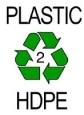 grade 2 plastic recycle symbol Parax Stone Paper
