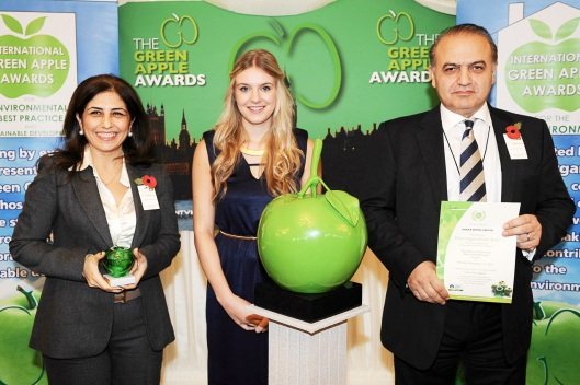 Parax Stone Paper voted the UK Green Champion 2013