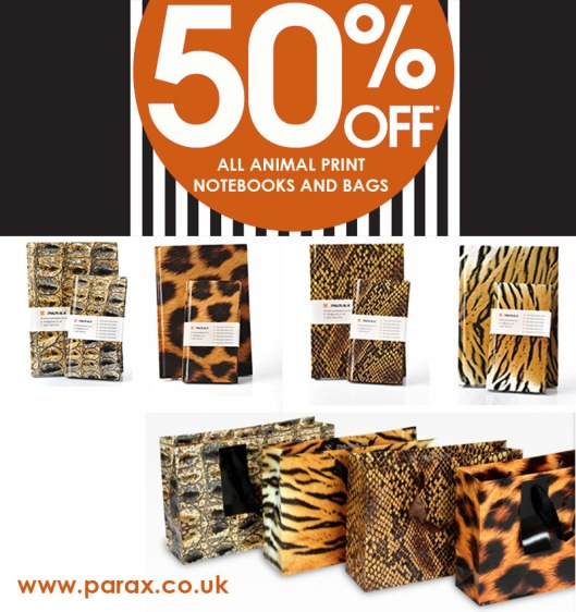 50-%-off-sale-animal-print-notebooks-and-bags