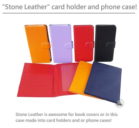 Stone Paper Card Holder and Phone Case 1