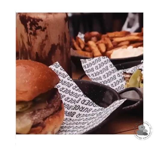 Burger Burger Tray Mat 3a