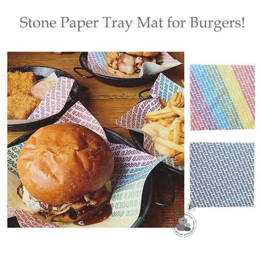Burger Burger Tray Mat